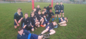 Year 7 make their Rugby League debut