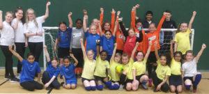 Year 4 Girls' Football Tournament