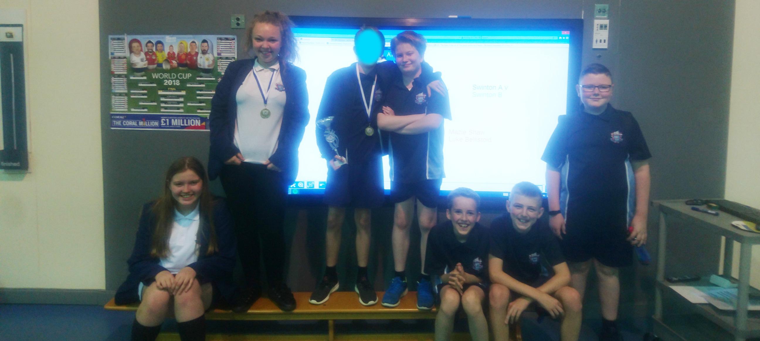 Salford Goal Ball Champions!