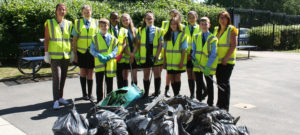 Litter picking for our community