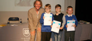 Literary Awards Evening with children's author Melvin Burgess