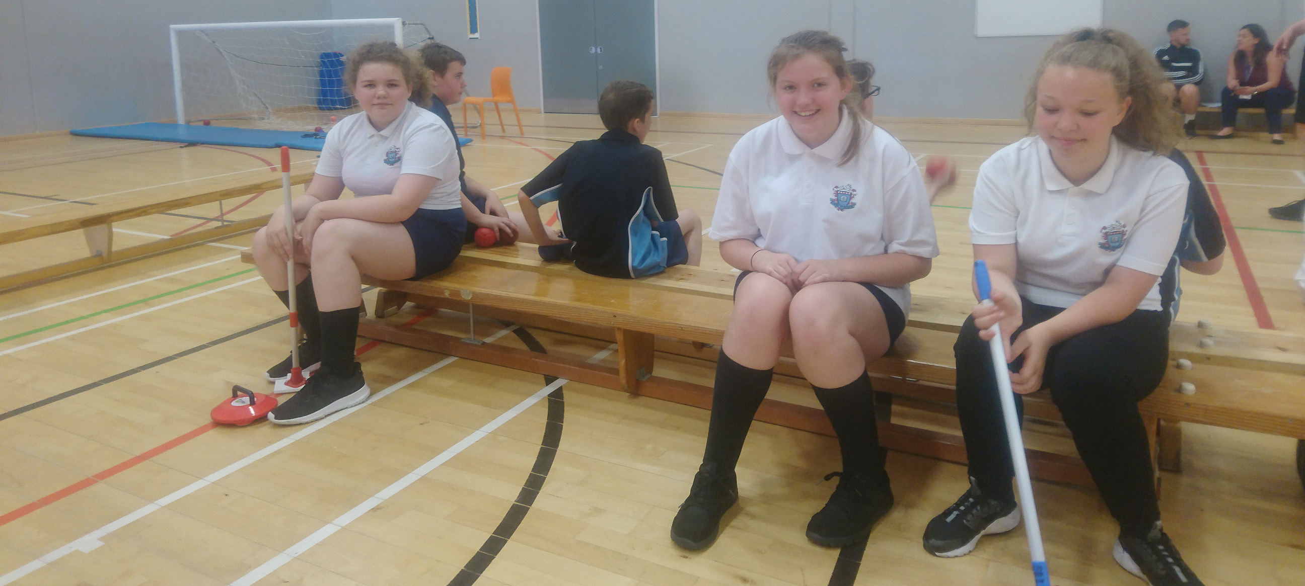 Students get their first experience of 'inclusive sports'