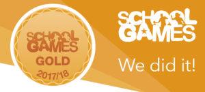 School Games Mark GOLD!
