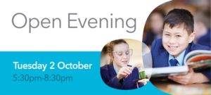 Open Evening 2018 Invitation