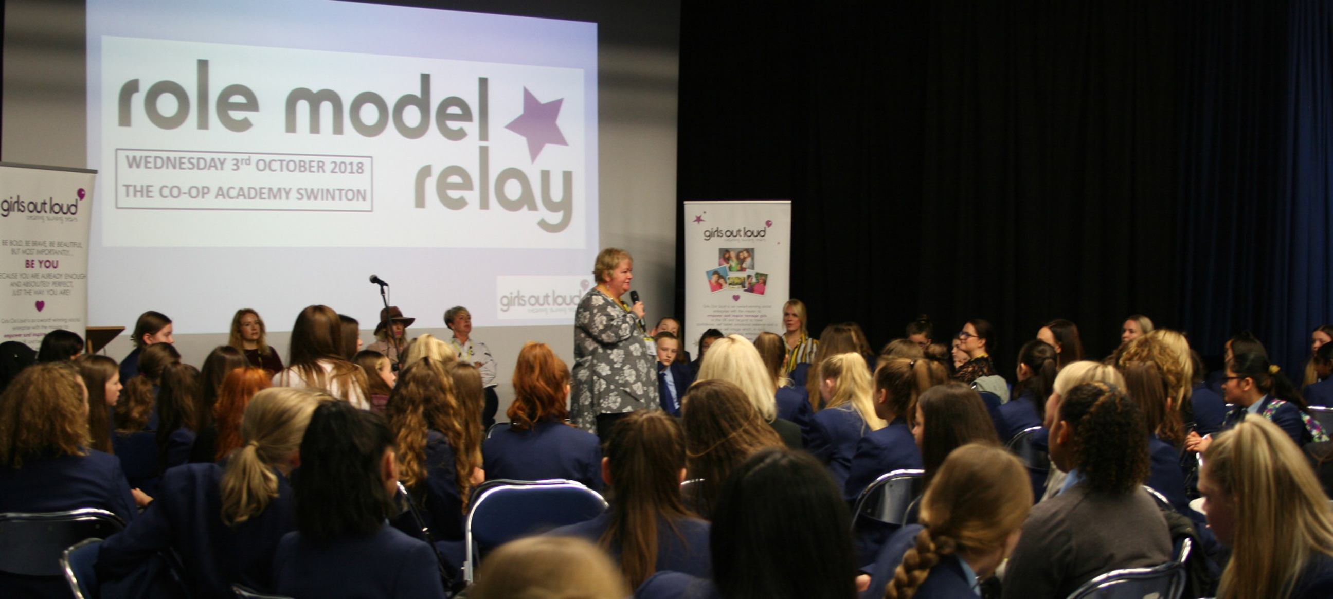 Girls Out Loud inspiring our Year 8s