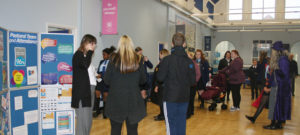 Open Evening overflows with visitors