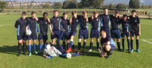 First round success for Year 11 football team