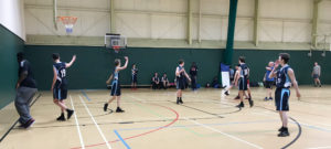Staff v Students Basketball
