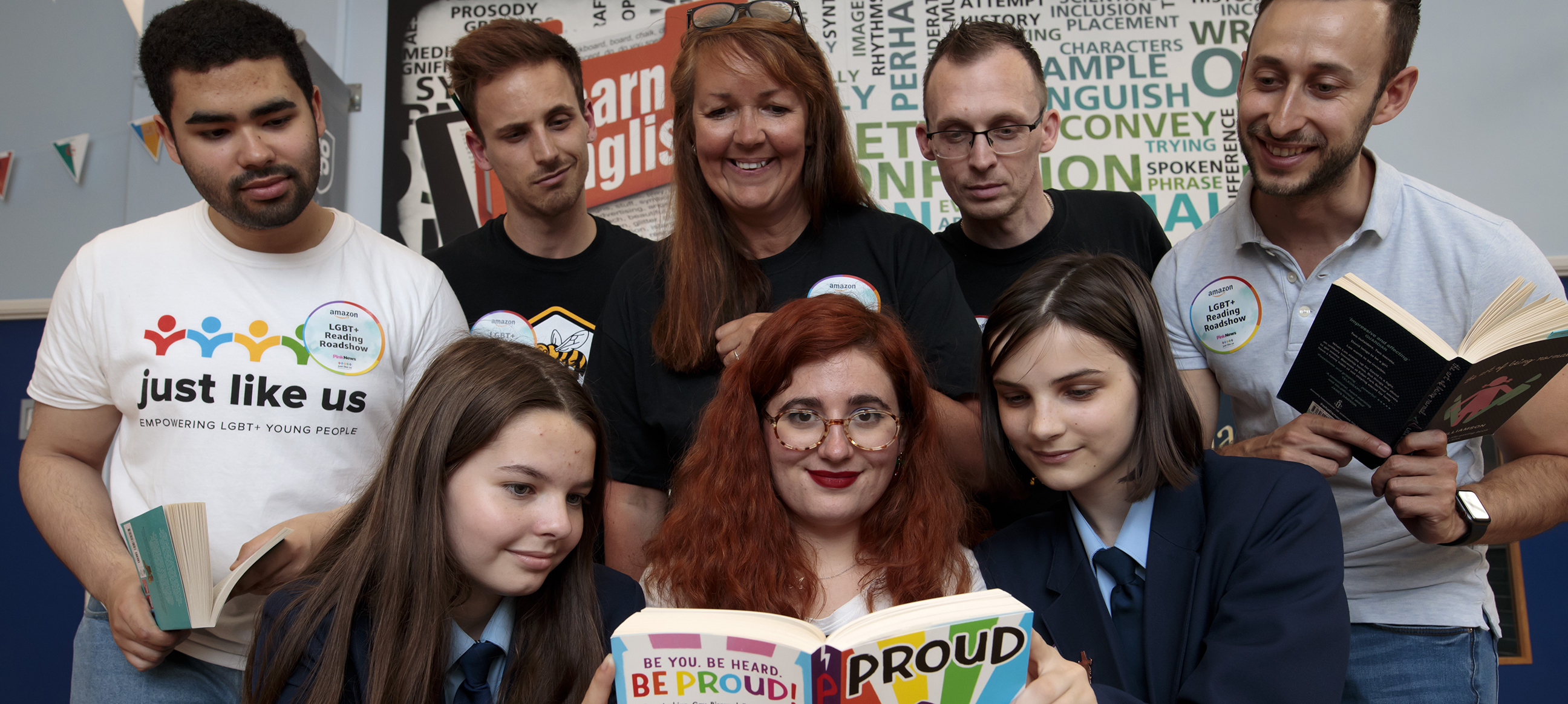 Amazon LGBT+ Reading Roadshow