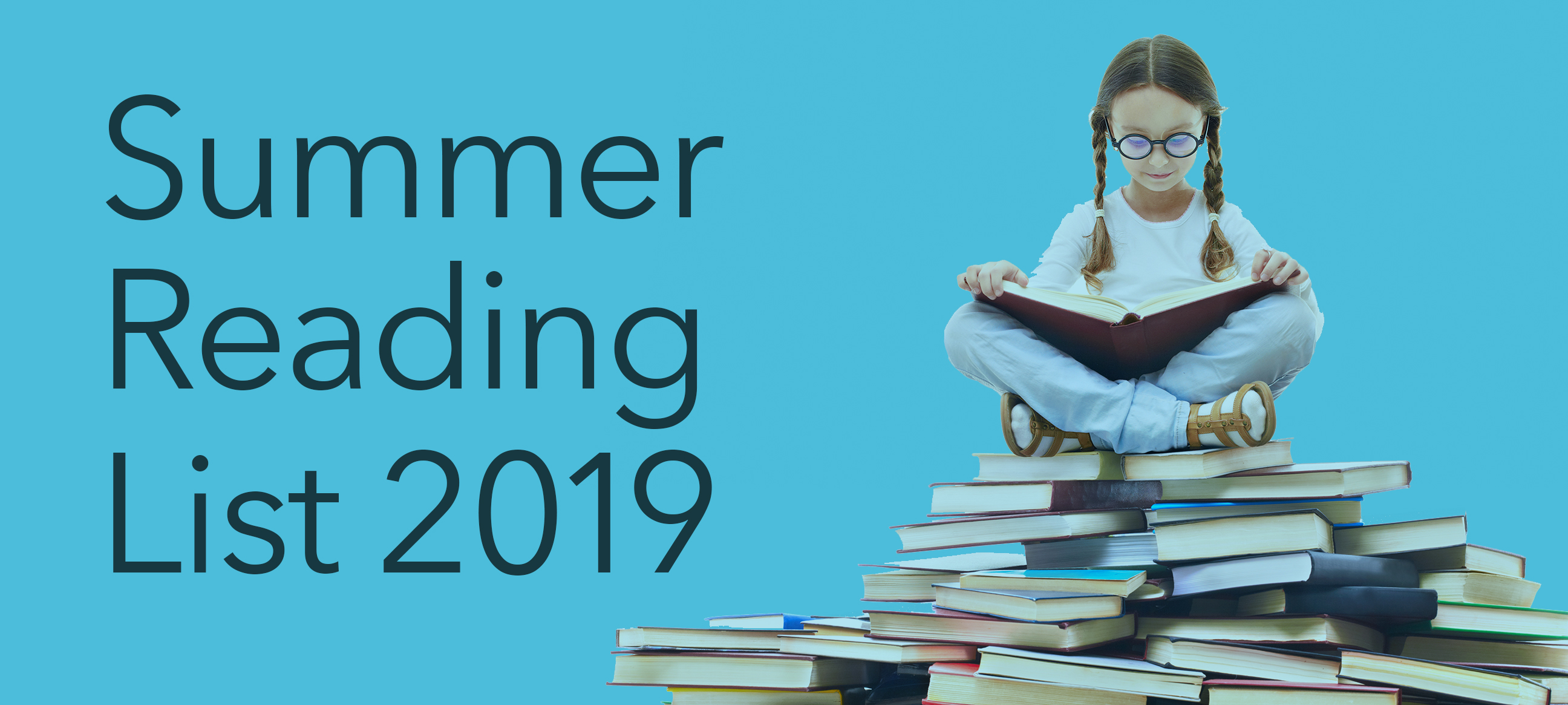 Let's keep reading over the summer holidays