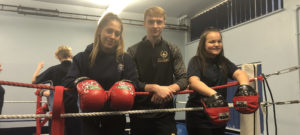 Boxing support from the Joe Gallagher Academy