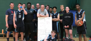 Teachers v Students Basketball