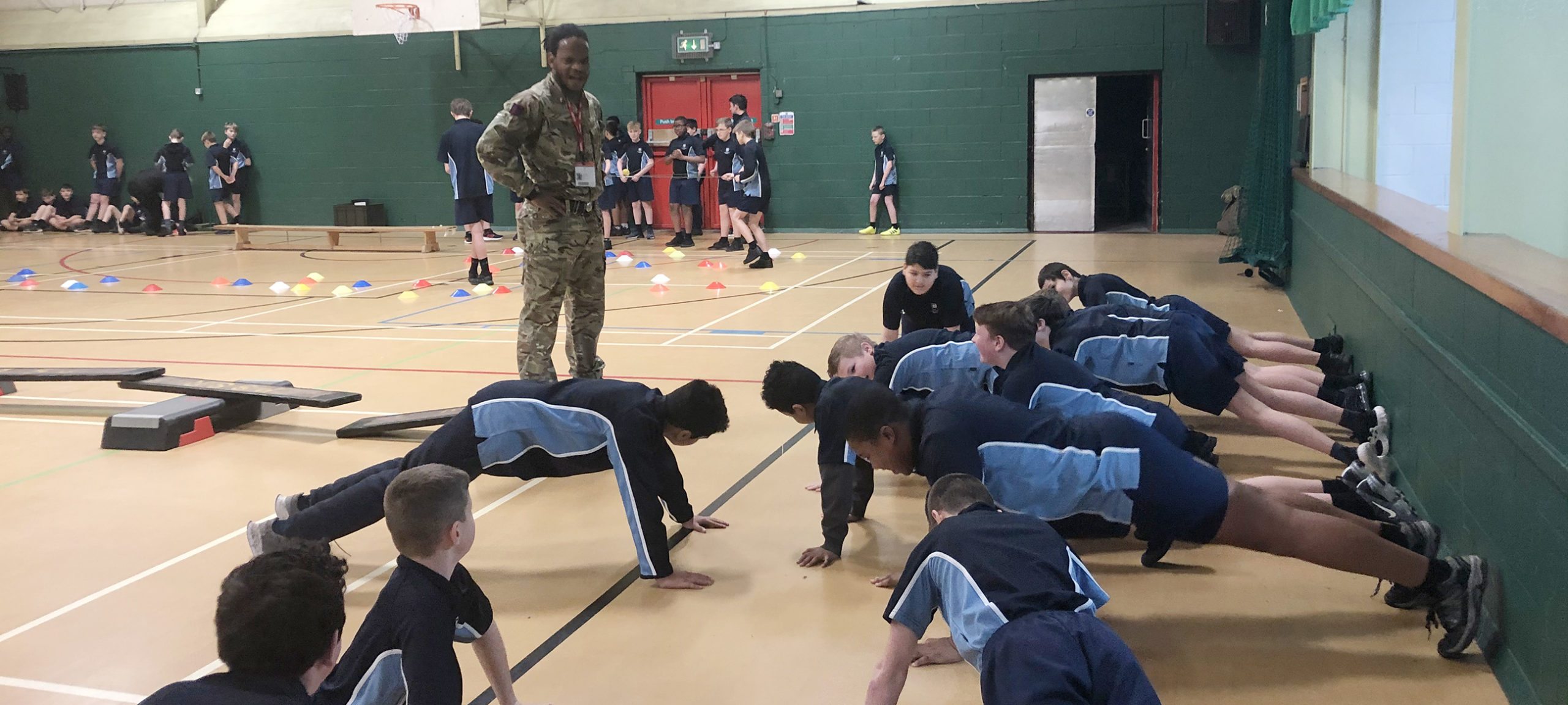 Army puts students through their paces!