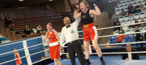 Golden Girl Jodie returns from her 'knockout' trip to Sweden