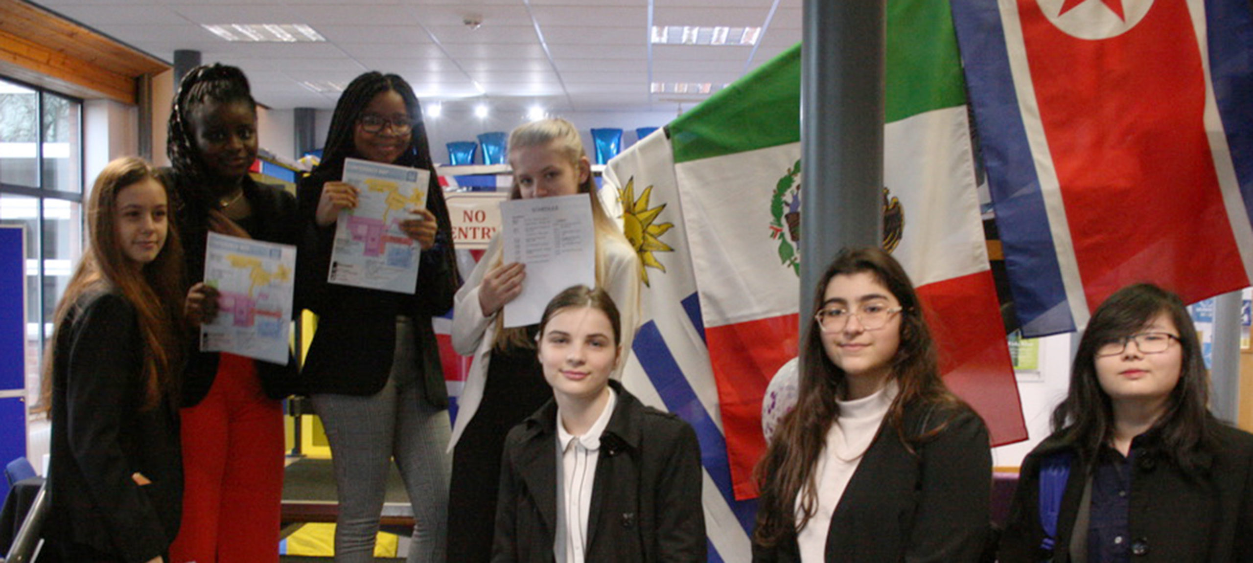 Co-op Academy Swinton join the Model United Nations!