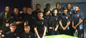 Former Manchester City player shares his sporting career journey with Year 10s