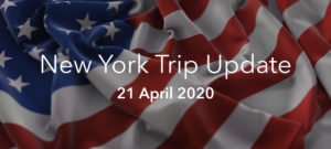 New York 2020 Trip Update