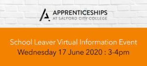 Apprenticeships at Salford City College : School Leaver Information Event