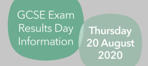 Results Day Information Reminder | Thursday 20 August