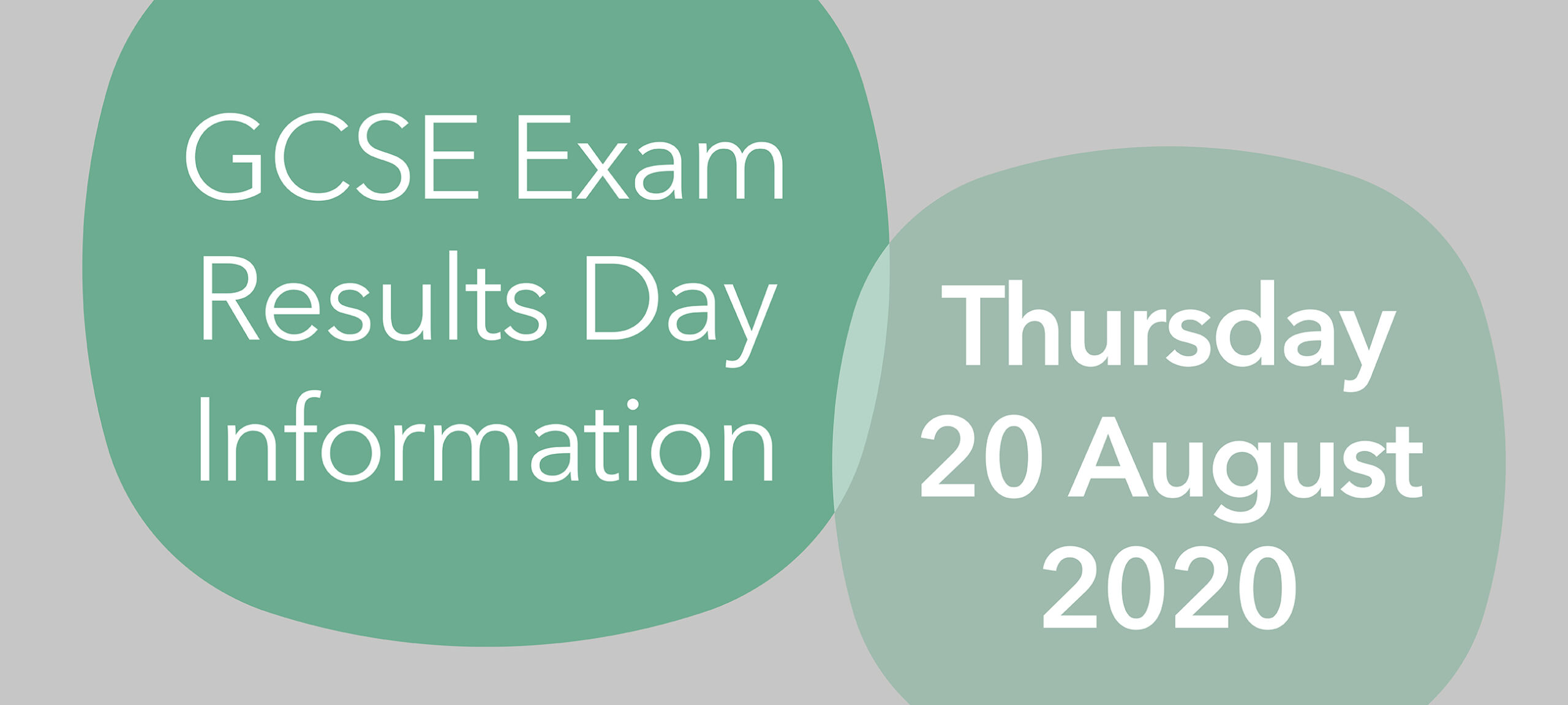 GCSE Exam Results Day, Thursday 20 August 2020
