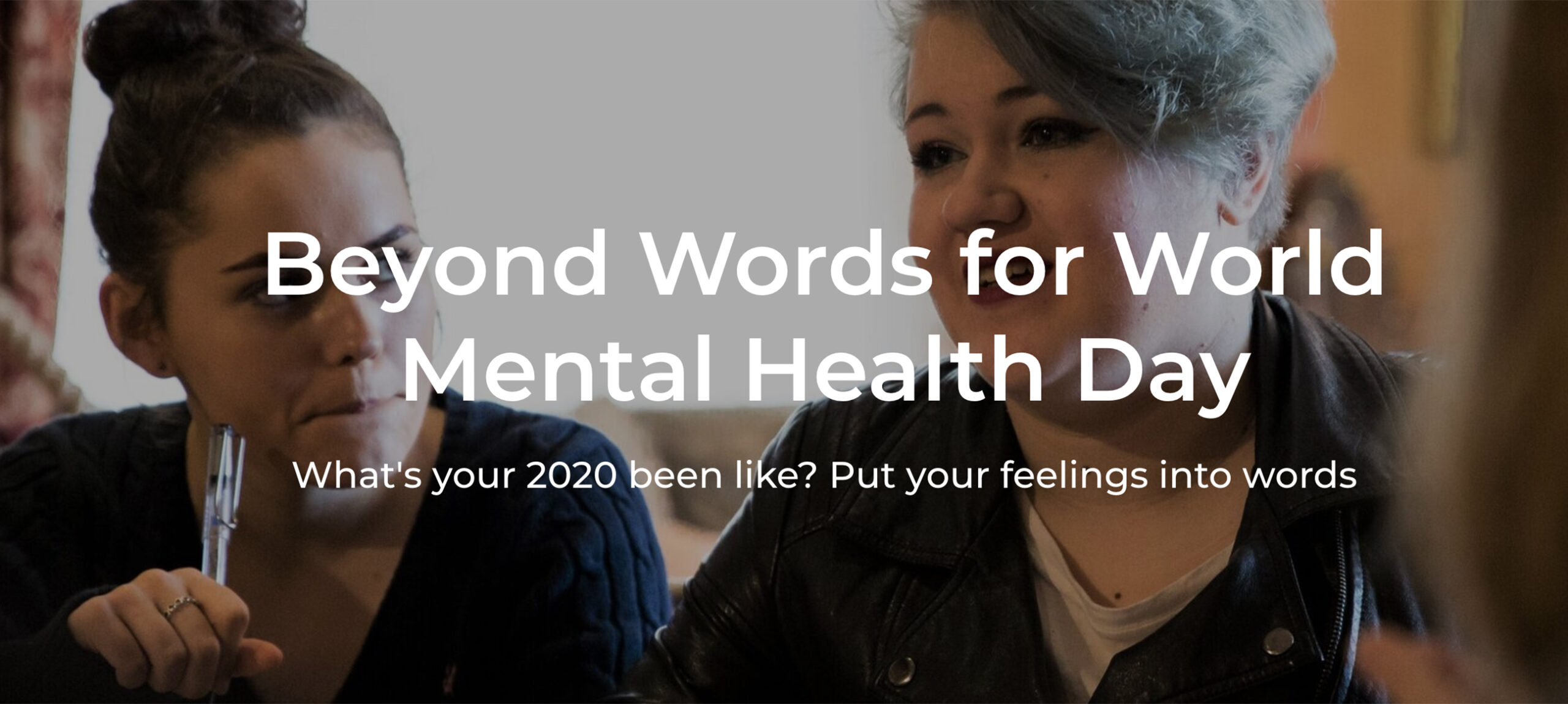 Beyond Words for World Mental Health Day