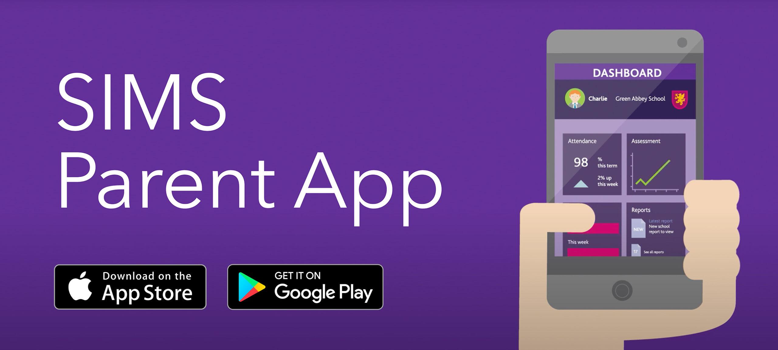 Important parent/carer information : SIMS Parent App