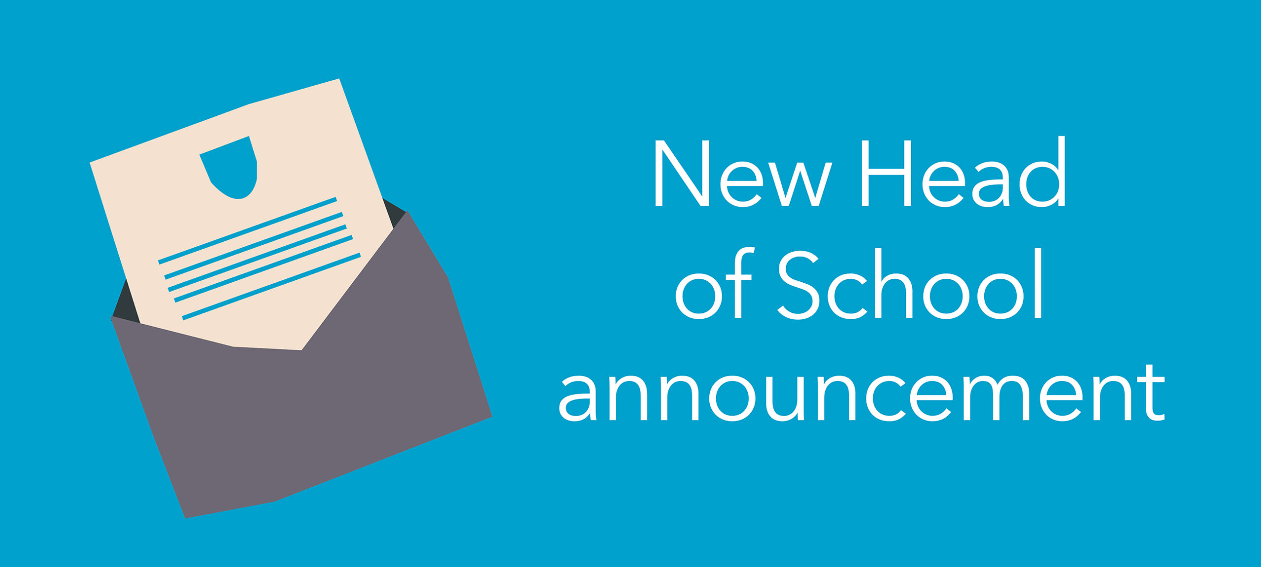 New Head of School announcement