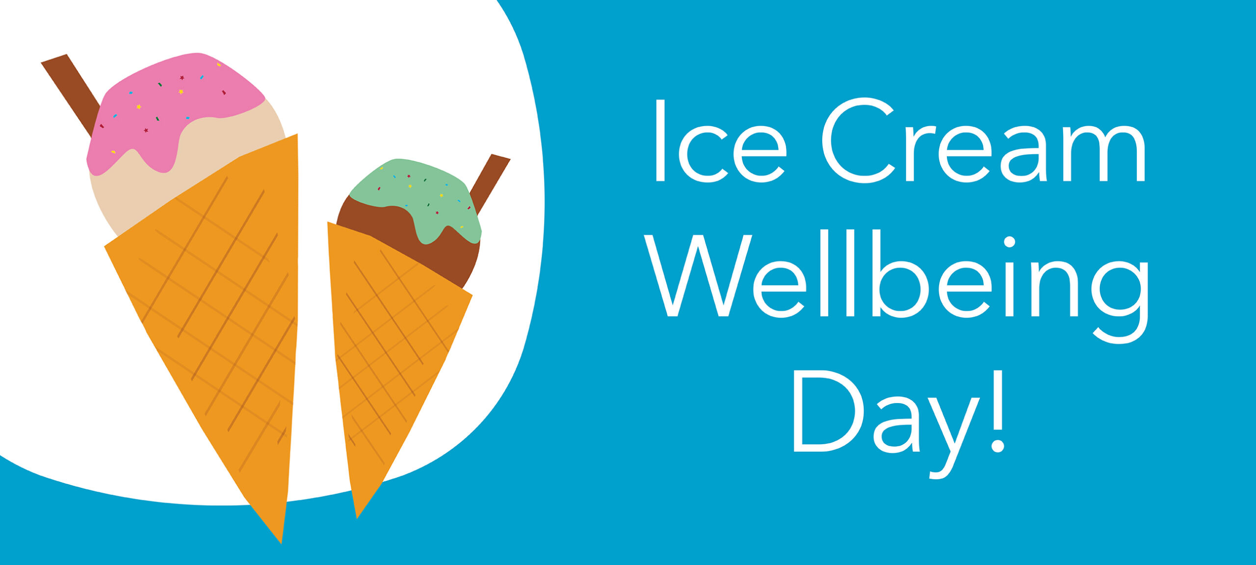 Whole School Ice-cream Wellbeing Day
